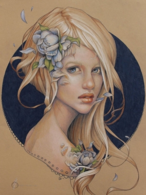 Талантливые портреты от Дженнифер Хили (Jennifer Healy)