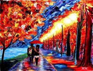 Слепой художник рисует невероятно красочные картины