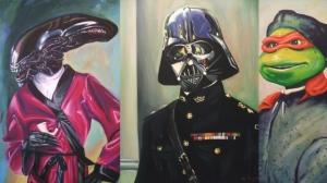 Знаменитые телеперсонажи в иллюстрациях Хиллари Уайт