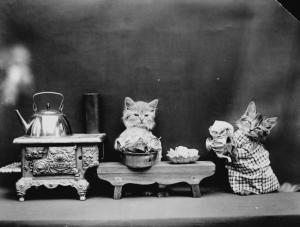 Животные совсем как люди в фотографиях Гарри Уиттера Фриса, снятых сто лет назад