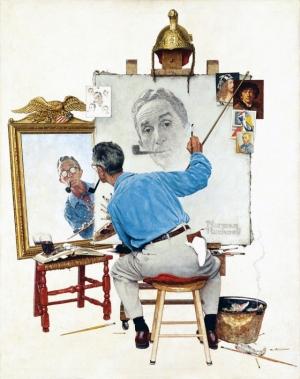 Норман Роквелл - культовый американский художник и его картины