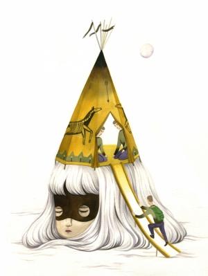 Необычные иллюстрации Андреа Ван (Andrea Wan)