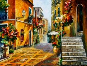 35 ярких и красочных картин улиц