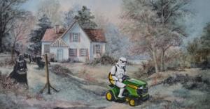 Случайные герои в старых картинах от Дэвида Ирвина