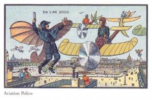 Как видели 2000-е художники 19 века. Футуристические иллюстрации 100-летней давности