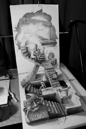 Лучшие карандашные 3D рисунки - 32 шедевра