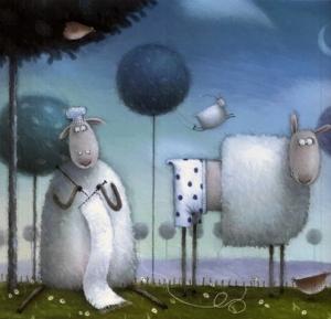 Милые и добрые детские иллюстрации Роба Скоттона