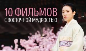 10 шикарных фильмов с восточной мудростью