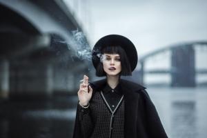 Портреты на грани художественной и модной фотографии от Марины Гатти