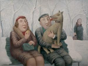 Художник из сельской глубинки рисует картины о настоящей жизни