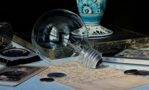 Эффект присутствия в гиперреалистичных картинах Джейсона де Граафа
