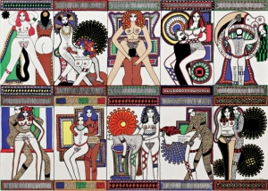 Эротические картины от художницы Дороти Янноне