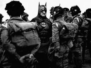 Супергерои в исторических фотографиях от Agan Harahap