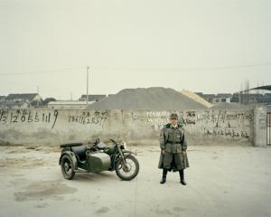 Байкеры Шанхая и их мотоциклы с колясками. Фотограф Орельен Шово