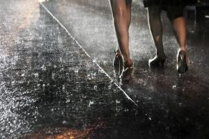 Картинные фотографии парижских дождей от Кристофа Жакро