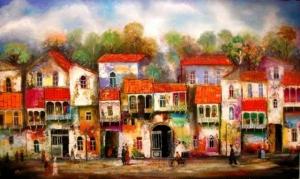 Давид Мартиашвили: «Мои картины должны вызывать у человека ощущение праздника»