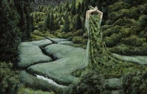 Сюрреалистическое уединение в картинах Моки